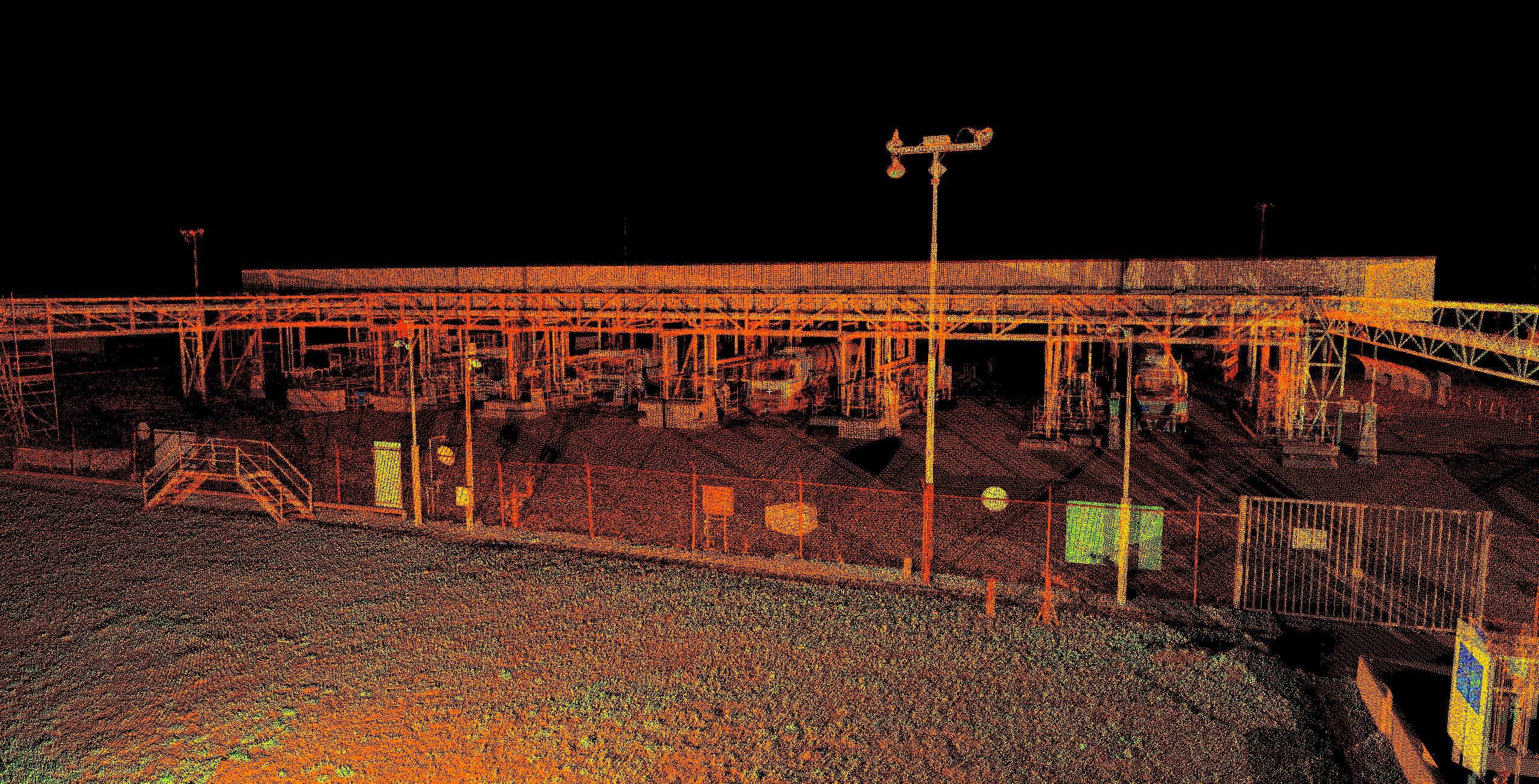Pointcloud loading dock