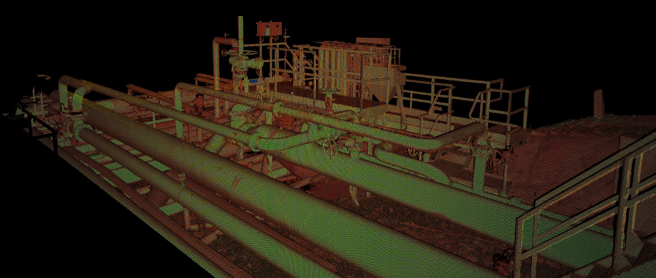 Pointcloud piping
